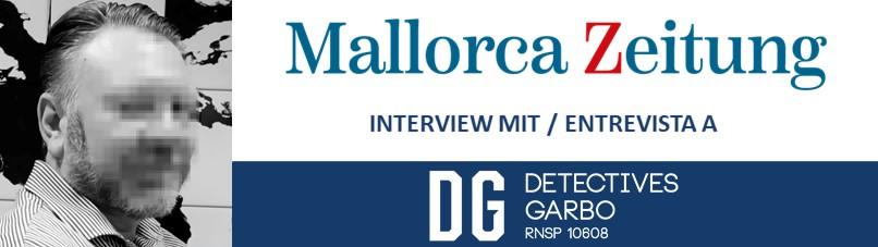 Detectives privados en Mallorca Zeitung (y II)