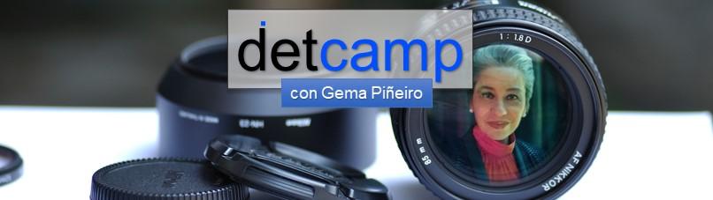 DG en #detcamp con Gema Piñeiro